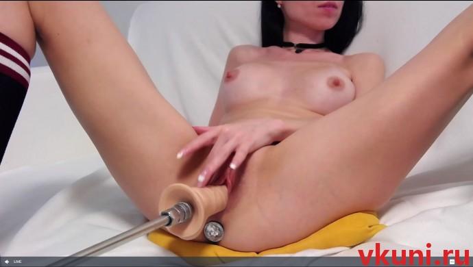 Sexykiska ебля с секс машиной в порно чате