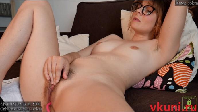 Вебкам модель meg мастурбирует в порно чате chaturbate